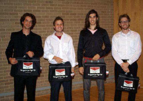 undergrad division winners