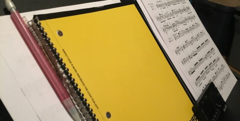 The Five Most Important Things to Keep on Your Music Stand
