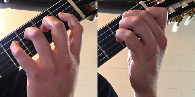 Two Types of Left Hand Shifting