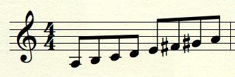 melodic-minor