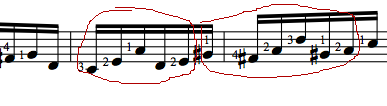bach six notes