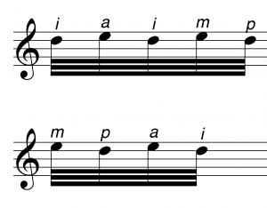 Cross String Trill Variations