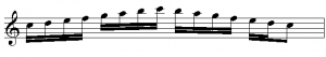 Four Notes per Beat