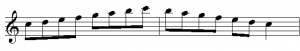 Two Notes per Beat